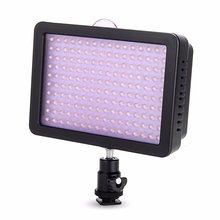 Cámara de vídeo wansen w160 led lámpara de luz para canon nikon pentax sony dv la misma con cn-160