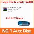 Высокопроизводительный профессиональный TIS2000 ключ файл для замены usb ключ ключ взломать TIS2000 для gm tech2 gm модель автомобиля
