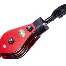 1T 2-3 блок шкива подъемника колеса, цепной подъемник колеса скольжения, цепной блок подъемного крана, подъемный строп, инструмент для обработки материалов, такелаж