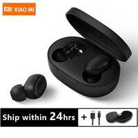 In Stock Original Xiaomi MI Redmi AirDots TWS Wireless Bluetooth Earphone Stereo Bluetooth 5.0 Mini Headset With Mic Earbuds