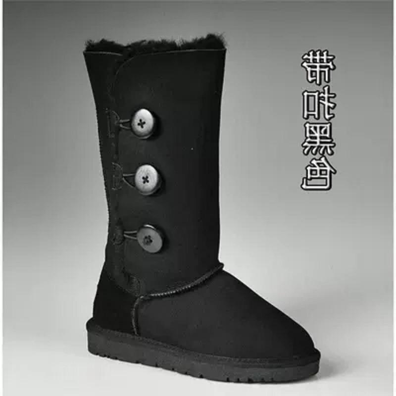 Antideslizantes Las Tubo Mujeres Para Algodón Botas Nuevo Negro azul Alta azul Invierno De 2019 Zapatos marrón Cielo La Nieve qAz77c
