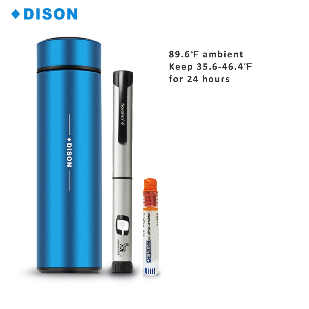 все цены на Dison Manufacture Supply 36 Hours Insulin Refrigerator Medicine Cooler Cup Portable Bag Insulin Cooler Box Insulin Cooling Bag онлайн