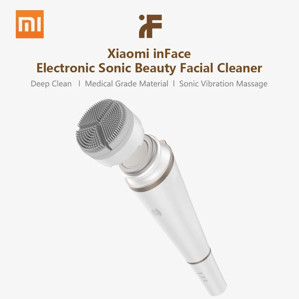 Xiaomi InFace Electronic Sonic Beauty Facial Instrument Deep Cleansing Face Skin Care Massager for Clean Oil Dirt Girl Best Gift (13)
