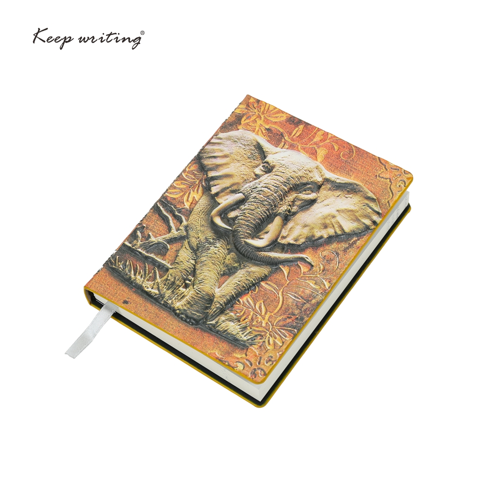 A6 Notebook Vintage journal Retro Notepad embossed cover Cute Diary PU Leather note book school supplie office Stationery ruize soft cover leather traveler notebook blank kraft paper note book a7 a6 creative travel journal diary school supplies