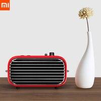 Последний xiaomi mijia LOFREE Bluetooth динамик Мода ретро легкий портативный fm радио Bluetooth кабель двойной режим смарт