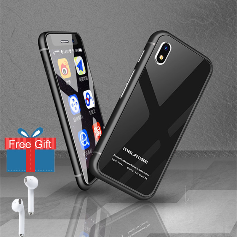 Melrose S9 PLUS Mini Pocket Smartphones Cheap 4G LTE Ultra Slim Mobile Phone Android 7.0 Cellphone 2.45 Inch 1GB 8/32GB Hebrew smartphone