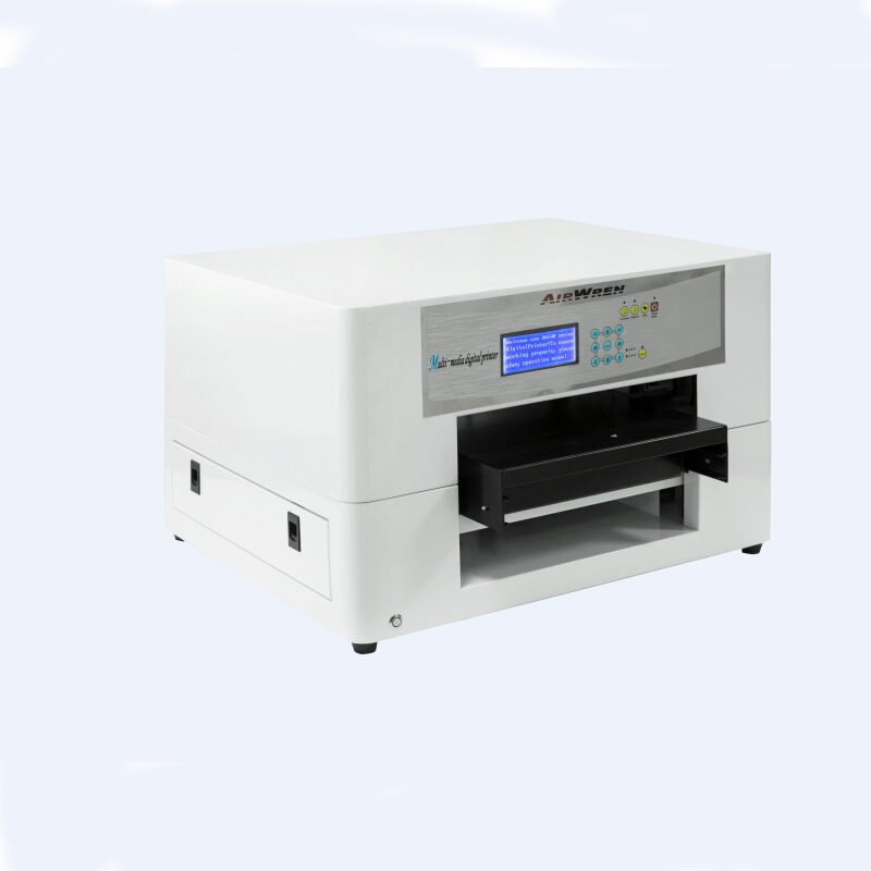 fast delivery flatbed inkjet printer a3 digital eco solvent printing machine for bottle  цены