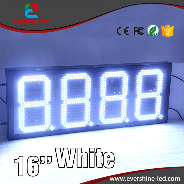 Shenzhen Factory direct manufacturer digital number led board for 16 inch red outdoor waterproof oil fuel station sign аксессуар чехол 10 inch urban factory tab01uf black red