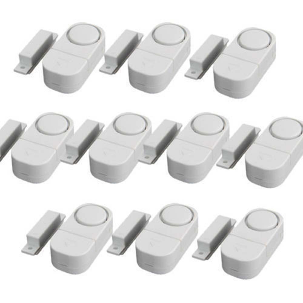 10pcs WIRELESS Home Window Door Burglar Security ALARM System Magnetic Sensor Window Entry Burglar Alarm Safety  цены