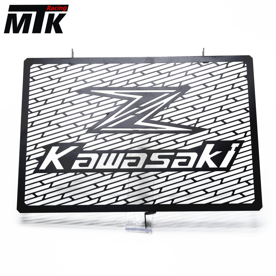 MTKRACING Arrival Stainless Steel Motorcycle radiator grille guard protection FOR Kawasaki Z750 Z800 ZR800 Z1000 Z1000SX for kawasaki z750 z 750 2007 2015 2011 2012 2013 2014 stainless steel motorcycle black radiator grille guard protection cover
