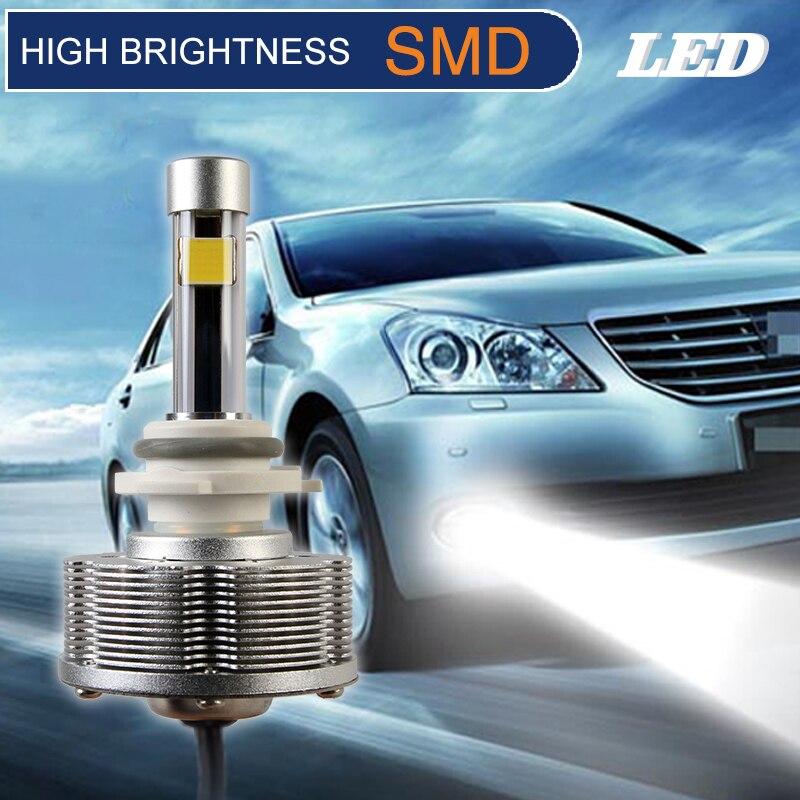 ٩ ۶hb4 9006 Led Fog Lamps Auto Bulb High Brightness 2400lm