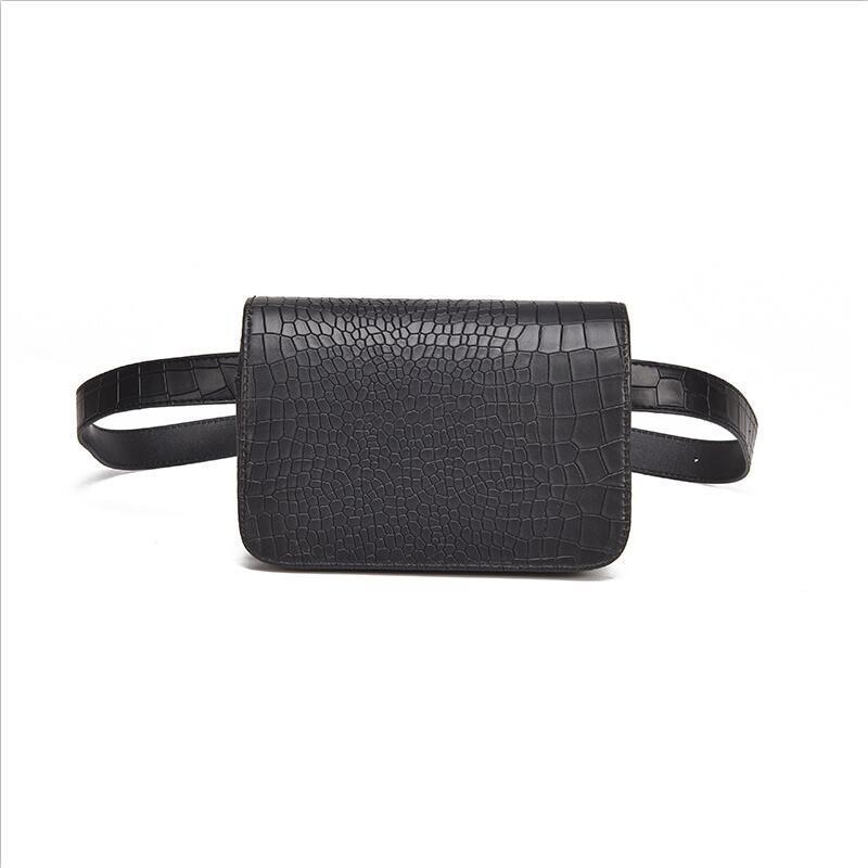 Waist Bag Women PU Leather Belt Bag Waist Pack Belt Wallets Fanny Bags white Mini minimalist white small Child-mother relation