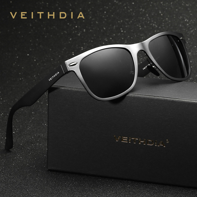 d7ed0a2320 Veithdia Men Polarized Sunglasses Aluminum Magnesium Sun Glasses Driving  Eyelasses Square Shades For Men Oculos masculino Male