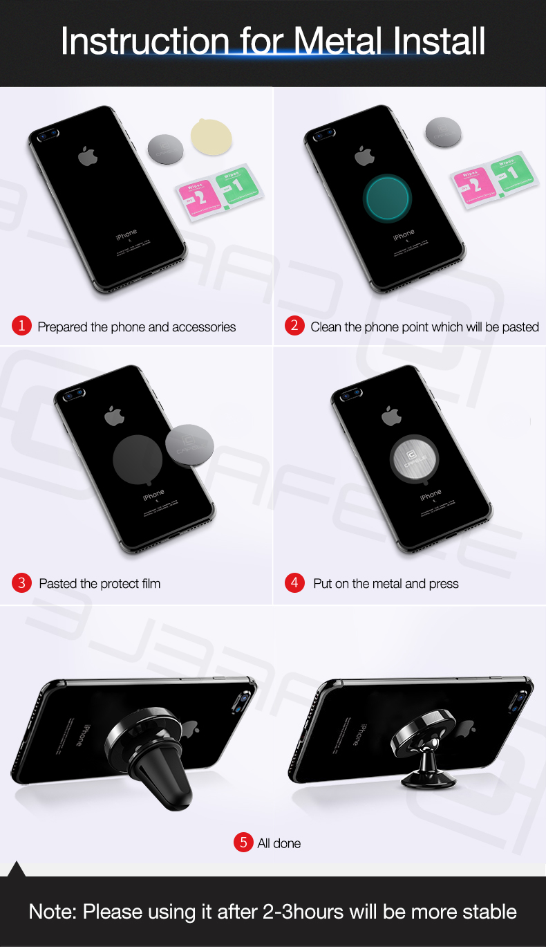 car phone holder for iphone xiaomi mi 9 se samsung s10 plus s10e (4)