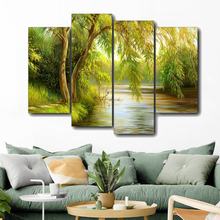 Afternoon Forest Canvas Painting Calligraphy Prints Home Decoration Wall Art Posters Pictures for Living Room Bedroom