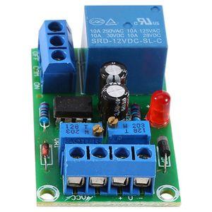 Image 4 - 12vバッテリー自動充電コントローラモジュール保護ボードリレーボードモジュール抗転置スマート充電器ホット販売