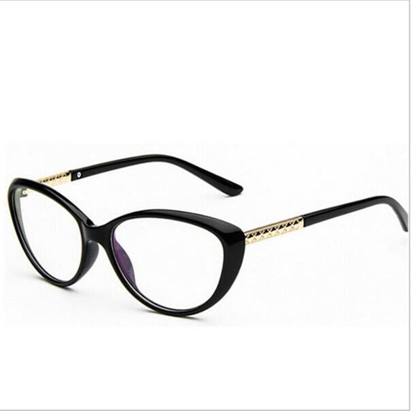 Glasses Frame Coating : 2016 Women Coating Optical Glasses Frame Cat Eye ...