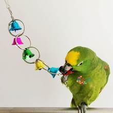 Игрушечные колокольчики с попугаями