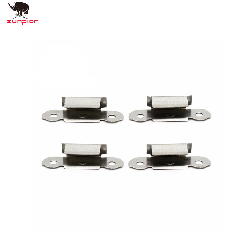 3d printer Accessories Stainless Steel Glass Heated Bed Clip 3D Printers Parts For UM3 UM2 Build Platform Glass Retainer Clamp