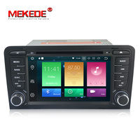Super high grade radio! android8.0 PX5 4GB RAM MEKEDE car gps dvd player for Audi A3 S3 RS3 2003 2011 support PIP 4G SIM wifi
