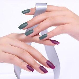 Image 5 - NEE JOLIE 3.5ml Black White Color Nail Polish Chameleon Effect Nail Art varnish Pearl Matte Nail Varnish  for Nail Art