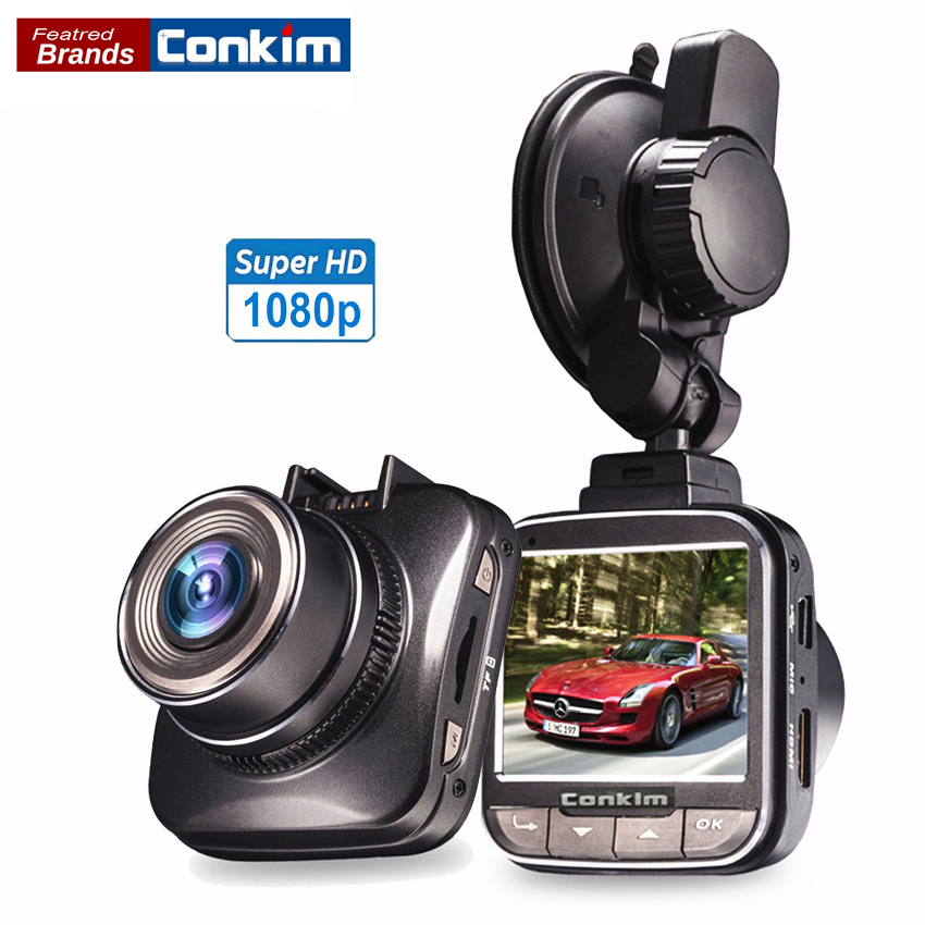 Conkim Car DVR MINI Auto Camera Novatek 96650 Chip Full HD 1080p 30fps 170 Degree G-sensor WDR Car Video Recorder Dash cam [m2] general car dvr wifi app mini hidden full hd 1080p novatek 96655 sony322 2 1inch g sensor car video recorder