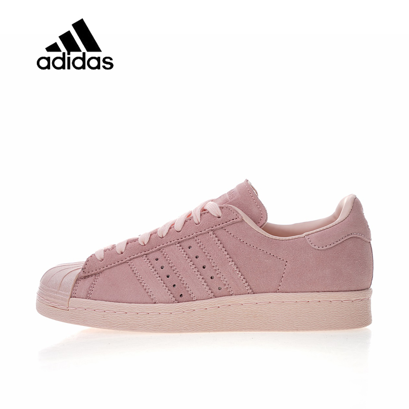 Original New Arrival Official Adidas Originals Superstar 80s Metal W Clover Women's Skateboarding Shoes Sport Sneakers CP9946 adidas кеды жен superstar 80s metal