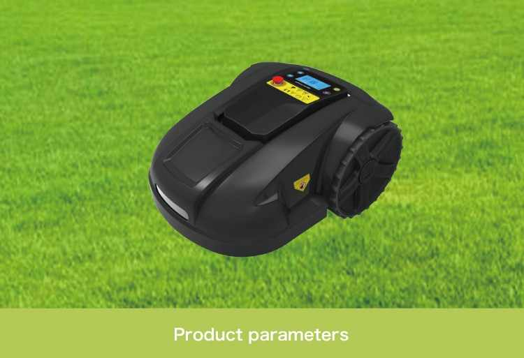 Дешевая робот машина для Скашивания травы с литиевой батареей 4.4ah для маленького сада, планировка уборки, водонепроницаемость, автоматическая зарядка