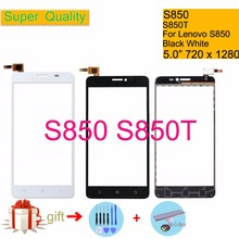 купить Original For Lenovo S850 S850T S 850 Touch Screen Digitizer Touch Panel Sensor Front Outer Glass Lens S850 Touchscreen 5.0