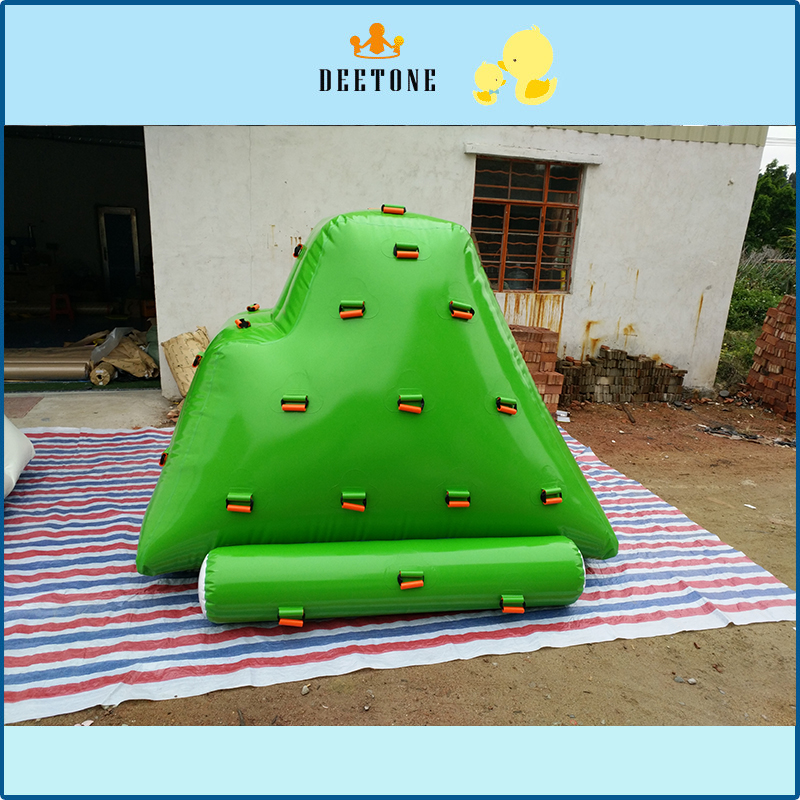High quality inflatable water park climbing mountain for sale /inflatable iceberg floating climbing water games inflatable biggors high quality inflatable climbing town kids toy climbing wall games for rental