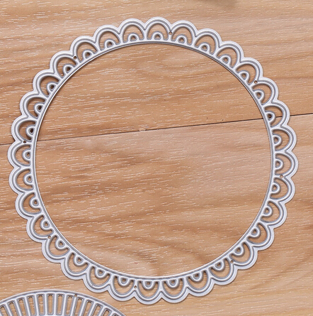 Newest Hot Flower Circle Layers Metal Cutting Dies Stencil DIY Printed Scrapbooking Embossing Paper Card Decorative Craft