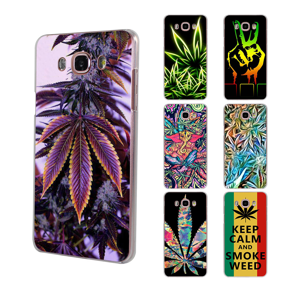 Abstractionism Art High Weed Tumblr Hard Clear Phone Case