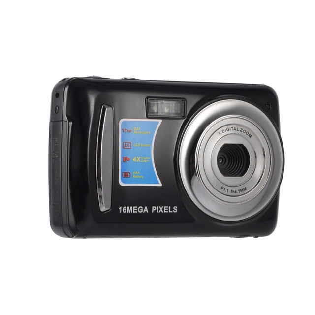 16MP 4X Zoom High Definition Digital Video Camera Camcorder 2.4 Inches TFT LCD Screen Auto Power-off