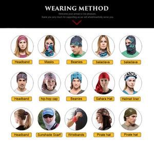 Image 5 - מותאם אישית בראגה Cuello נשים צעיפי כובעי צינור בנדנות Ciclismo חורף צוואר מוק Windproof פנים מסכת Buff עבור שלך מועדון