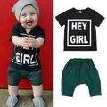2016 Nueva Ropa Del Bebé Del Verano Camiseta Top + Shorts Kid Boy Summer Set Niños Ropa Del Muchacho Set