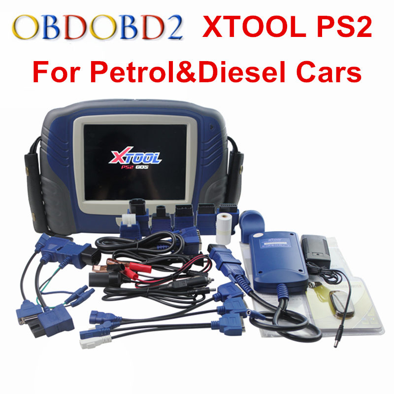 Подробнее о XTOOL PS2 GDS For Petrol&Diesel Universal Car Diagnostic Tool PS2 GDS For Heavy Duty Scanner Update Online OBD2 Scanner 12v car boat heavy duty diessel petrol hep 02a metal set