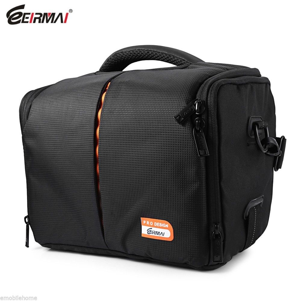 EIRMAI Camera Bag SS03 Professional Travel Carring Large Capacity with Rain Cover for Canon Nikon Pentax 500d 600d 5d3 DSLR Cam dslr camera backpack padding lens divider insert bag with 15 laptop pack travel bag for canon 5d 7d 600d nikon d7200 sony a6000
