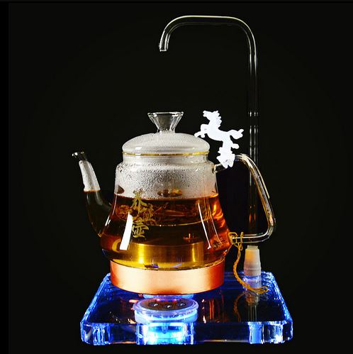 Electric kettle Crystal health pot fully automatic tea making machine multi-function thick glass electric Overheat Protection