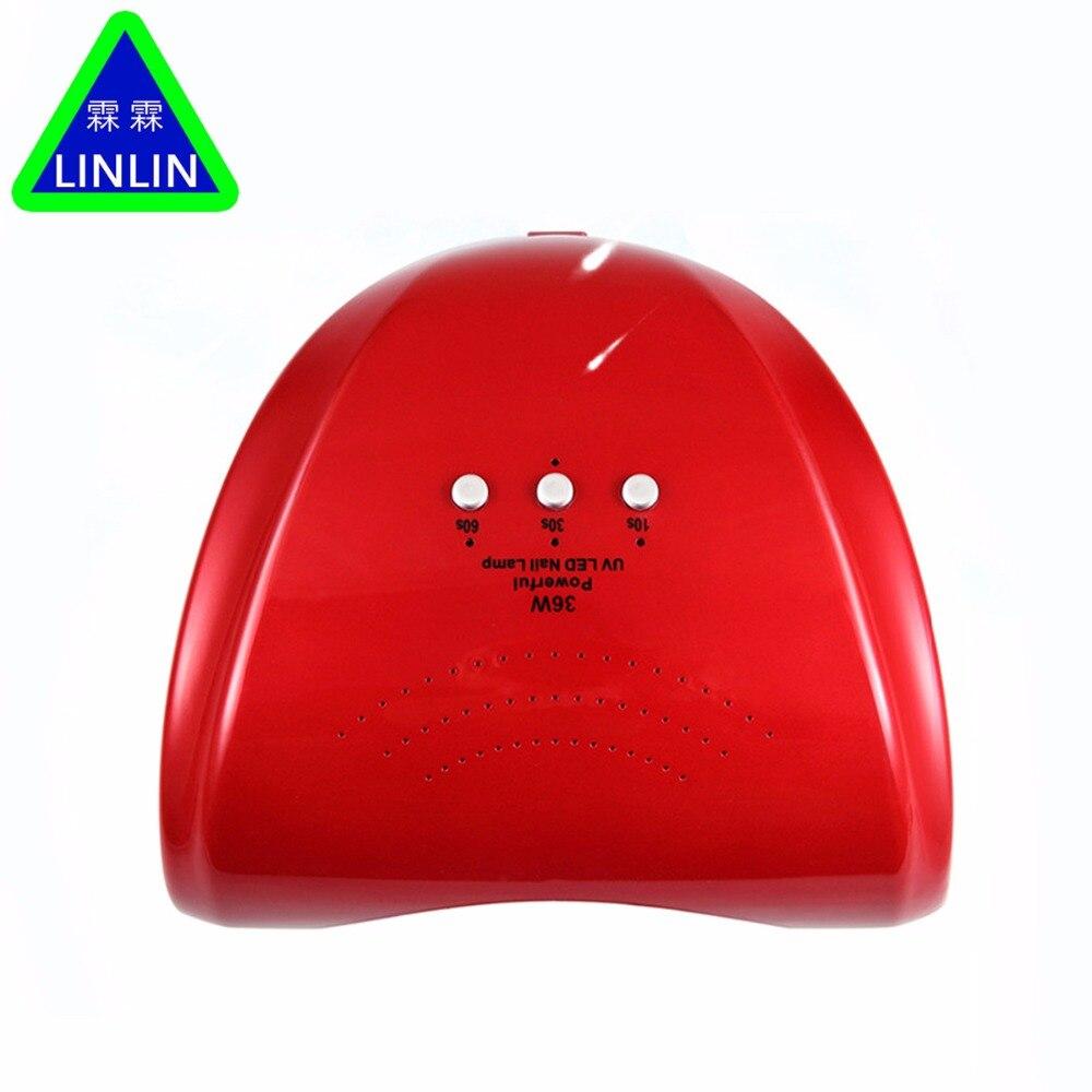 LILN new 36W LED Nail Dryer and Poland induction lamp adhesive tool Bobbi Nail Therapy massage