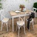 100% деревянный стул, Античная дуб стул, Металл назад, Ротанга качели стул, Ротанга мебель, Гостиная мебель