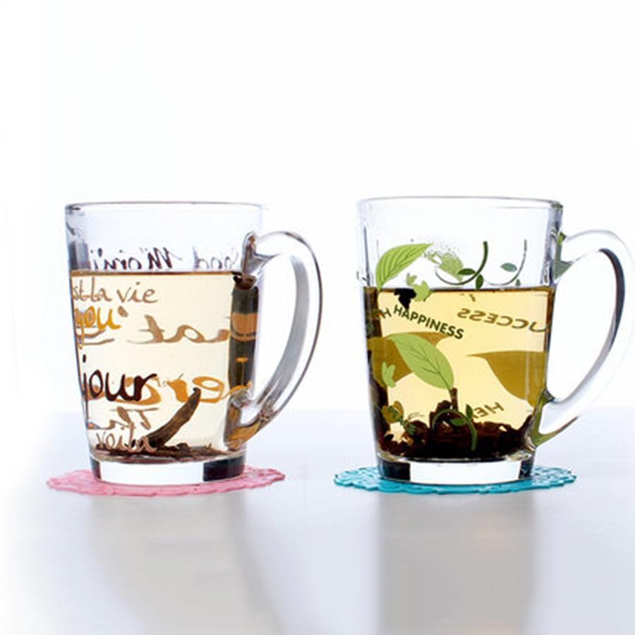 Milk Mug Glass Cup Creative Printing