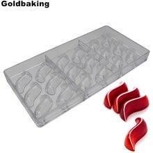 Goldbaking s 초콜릿 몰드 폴리 카보 네이트 초콜릿 몰드 새로운 디자인 베이킹 몰드