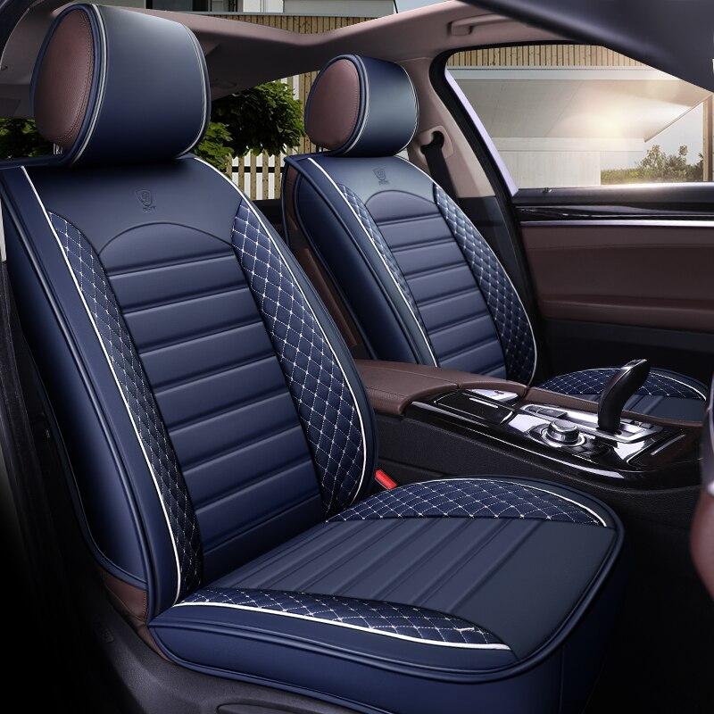 PU siège de voiture en cuir couverture auto accessoires pour hyundai creta ix25 ix 25 elantra i30 Fastback i40 ix35 KONA tous les années 2018