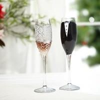 2pcs Set Wedding Champagne Glass Set Decor Cup Hanap Red Wine Cup Wedding Glasses Bride