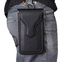 Draagbare Universele PU Leather Pull Tab Pouch Tassen Voor HTC Desire 626 630 530 628 650 728 816 820 Een m8 M9 A9 X10 M10 U11 Plus