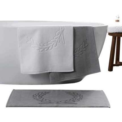 LYN & GY 綿 100% ビッグホテルホーム Flool タオル浴室カーペット浴槽の床マットノンスリップバスマットステップ足パッドトイレの敷物