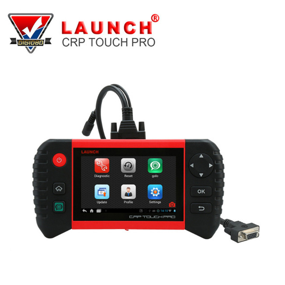 Launch CRP Touch Pro WIFI Auto Diagnostic Tool All System Code Reader Scanner Oil Reset EPB DPF SAS BMS Multi Languages все цены