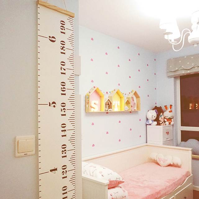 Wooden Wall Shelf for Kids Room