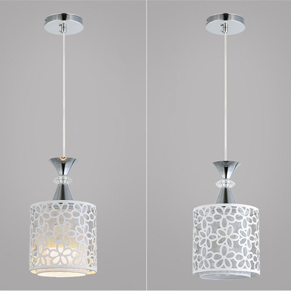 HTB1fotmbELrK1Rjy1zbq6AenFXas Modern Crystal Ceiling Lights Flower Lampshade White Light LED Lamp Living Room Indoor Lighting
