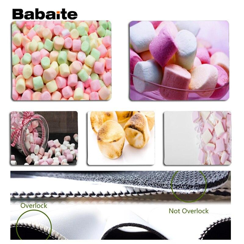 Babaite Нескользящие PC Cotton candy коврик для мыши геймер играть коврики Размеры для 18x22 см 25x29 см резиновая Мышь коврики